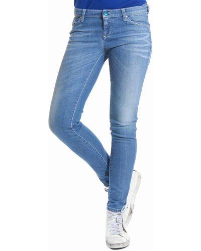 Голубые джинсы Armani Jeans