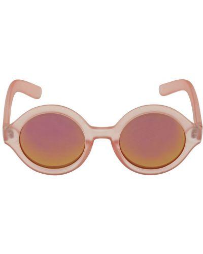 Różowy okulary przeciwsłoneczne okrągły Molo