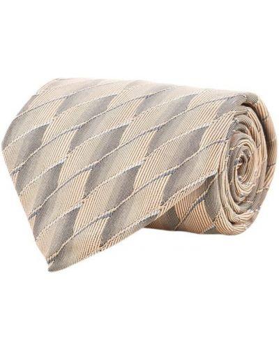 Krawat z jedwabiu - różowy Saint Laurent Vintage