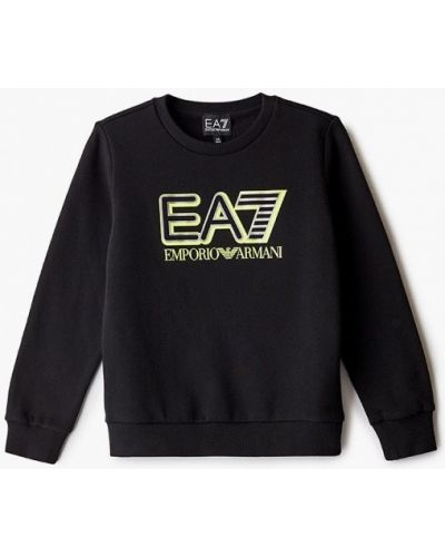 Черный свитшот Ea7