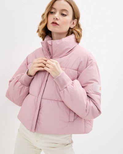 Утепленная розовая куртка Sela