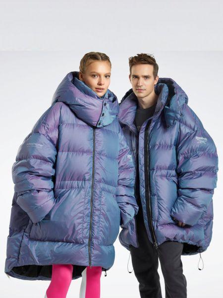 Фиолетовая куртка Reebok