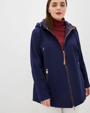 Утепленная куртка - синяя Samoon By Gerry Weber
