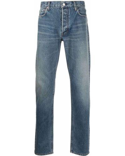 Klasyczne niebieskie jeansy bawełniane Ambush
