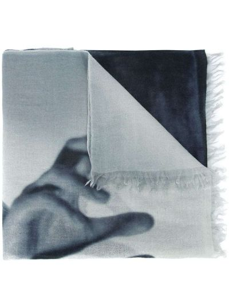 Кашемировый черный шарф Private Stock