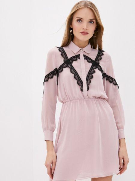 Повседневное платье розовое весеннее Blugirl Folies