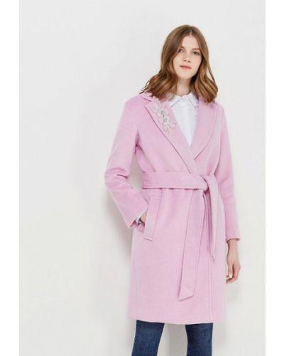 Розовое пальто осеннее Incity