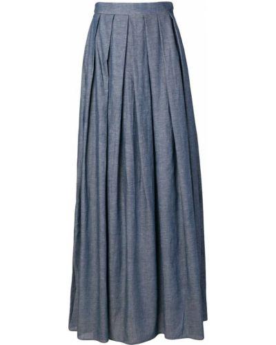 Плиссированная юбка с завышенной талией макси Ultràchic