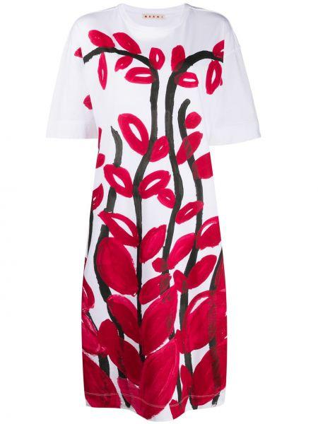Платье мини миди футболка Marni