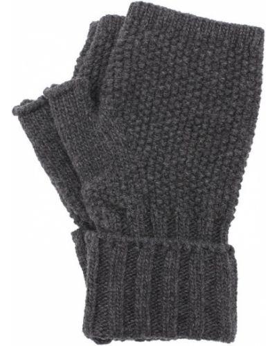 Серые перчатки вязаные Artiminesi