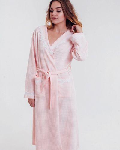 Халат розовый итальянский Mia-diva