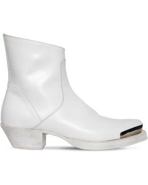 Кожаные ботинки ковбойские треккинговые Vetements