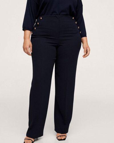 Синие брюки осенние Violeta By Mango