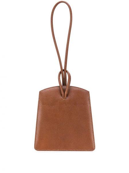 Маленькая сумка кожаная в полоску Little Liffner
