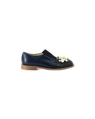 Кожаные туфли летние Marni