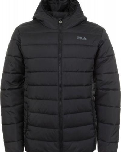 Утепленная куртка с капюшоном спортивная Fila