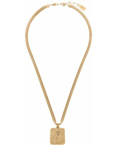Ожерелье винтажное - желтое Yves Saint Laurent Vintage
