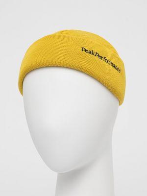 Шерстяная шапка Peak Performance