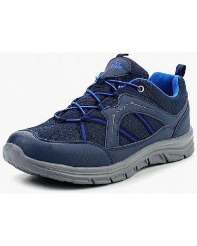 Синие кожаные ботинки Zenden Active