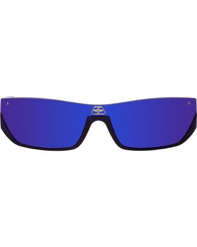 Czarne okulary Balenciaga