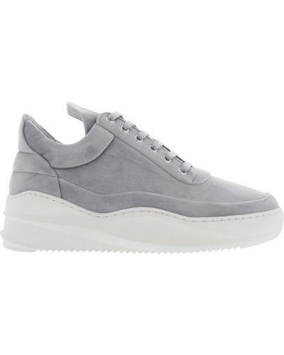 Szare sneakersy srebrne Filling Pieces