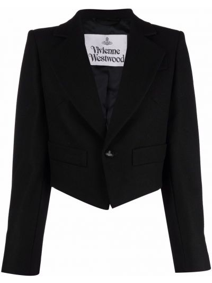 Длинная куртка - черная Vivienne Westwood