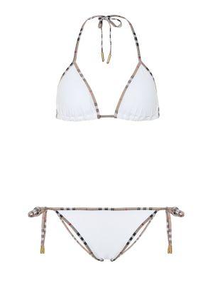 Bikini biały zabytkowe Burberry