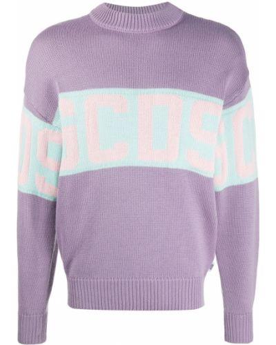 Шерстяной джемпер - фиолетовый Gcds