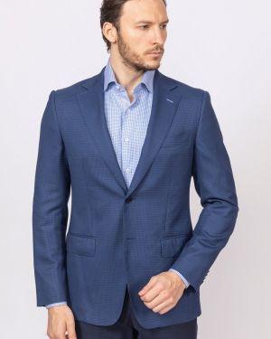 Пиджак твидовый приталенный канцлер