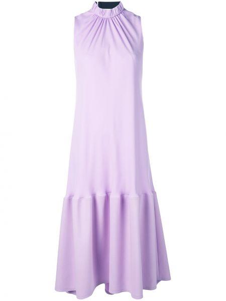 Платье с драпировкой расклешенное Tibi
