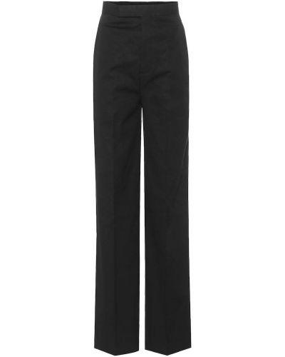 Bawełna czarny bawełna spodni klasyczne spodnie Rick Owens