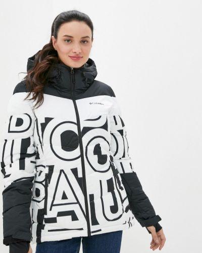 Белая куртка горнолыжная Columbia