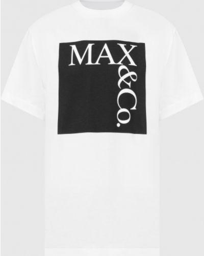 Футболка - белая Max & Co