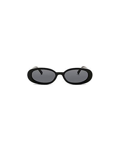 Солнцезащитные очки черные Le Specs