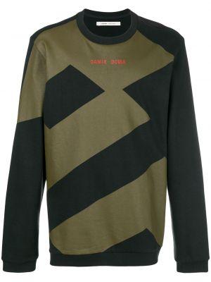 Czarna bluza dresowa bawełniana Damir Doma