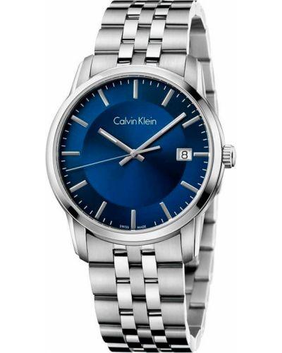 Zegarek kwarcowy srebrny - szary Calvin Klein