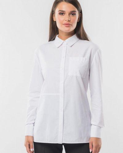 Белая рубашка с длинными рукавами Remix