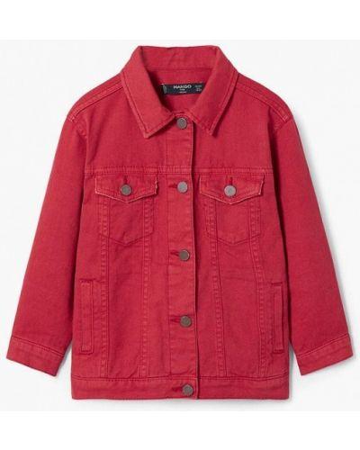 Красная куртка Mango Kids