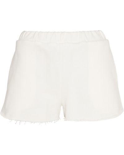 Трикотажные шорты - белые Forte Couture