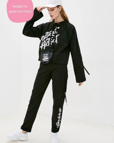 Костюмный черный спортивный костюм Dali