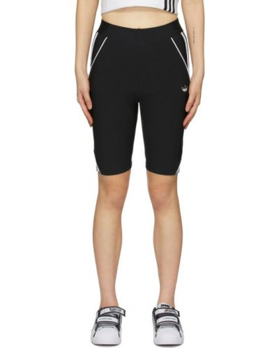 Шорты черные белые Adidas Originals