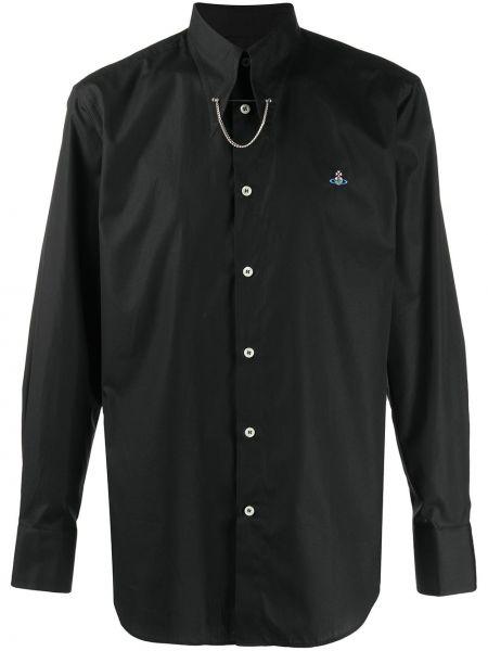 Koszula z długim rękawem klasyczna z logo Vivienne Westwood