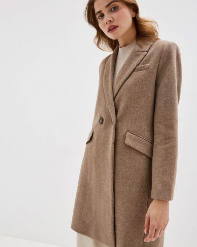 Пальто бежевое пальто Mango
