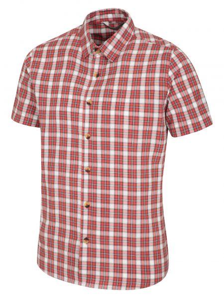 Koszula bawełniana - pomarańczowa Mountain Warehouse
