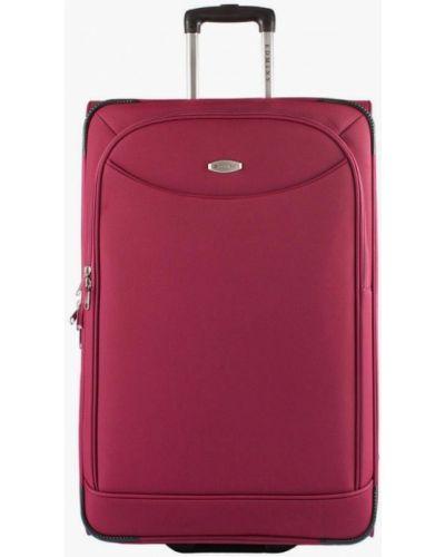 Розовый чемодан Edmins