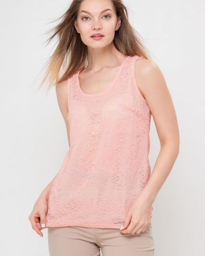 Блузка розовая весенний Лимонти