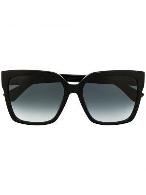 Черные солнцезащитные очки квадратные с тиснением Moschino Eyewear