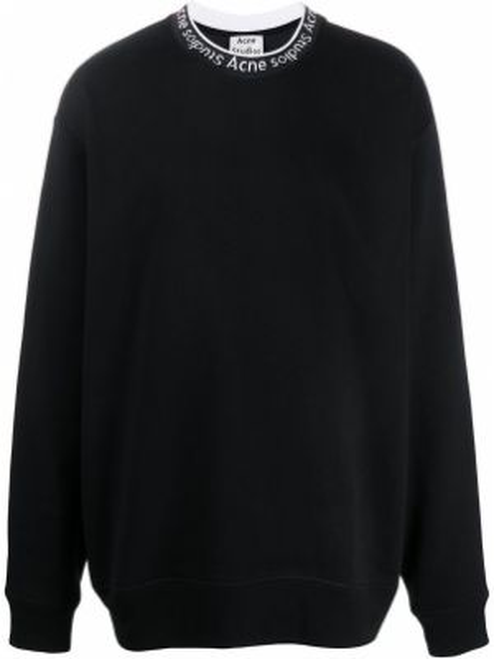 Bluza dresowa - czarna Acne Studios
