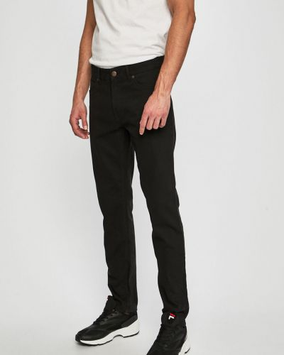 Прямые брюки с карманами черные Dickies