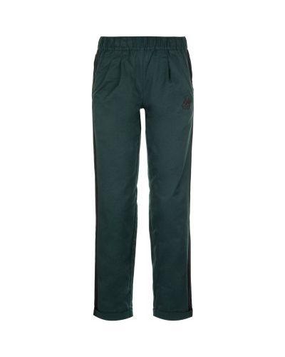 Спортивные брюки зеленый с карманами Kappa